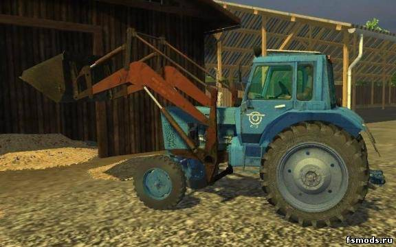 МТЗ 80 и ПКУ 0,8 для Farming Simulator 2013