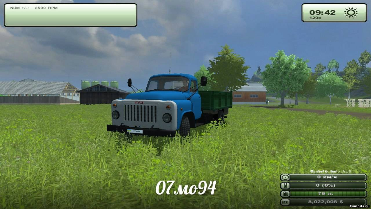 ГАЗ 53 для Farming Simulator 2013