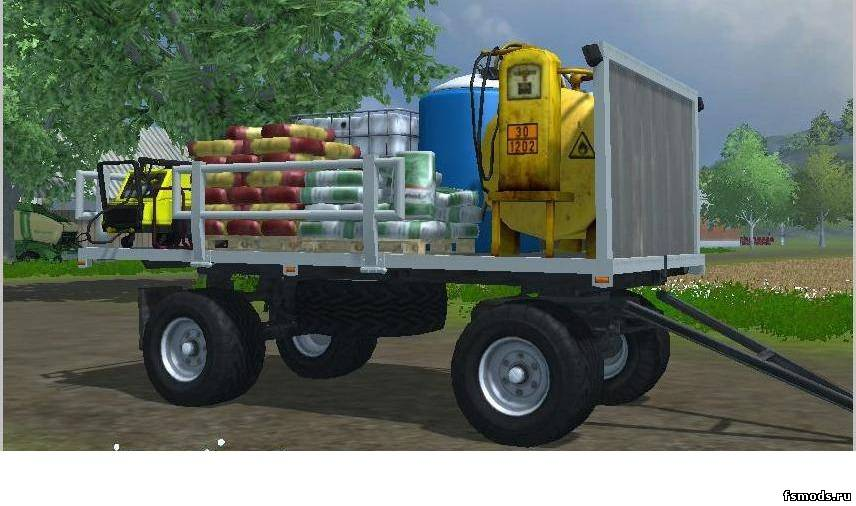 HW 80 ServiceTrailer... для Farming Simulator 2013