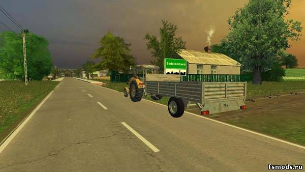 Прицеп для Farming Simulator 2013
