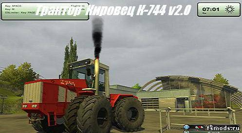 Кировец К-744 для Farming Simulator 2013