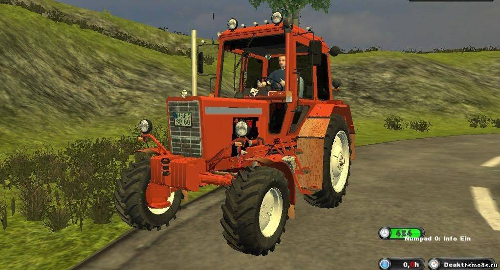 Belarus MTS 82 Turbo для Farming Simulator 2013
