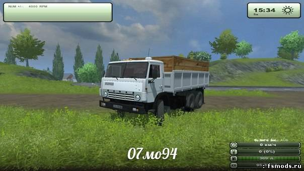 КамаЗ 51102 v4 для Farming Simulator 2013