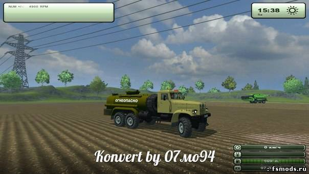 Краз для Farming Simulator 2013