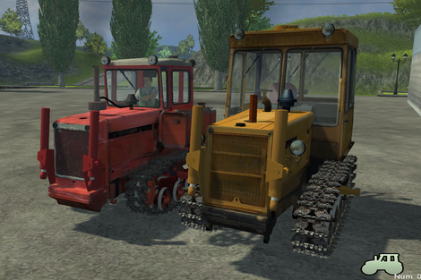 ДТ 75 пак для Farming Simulator 2013