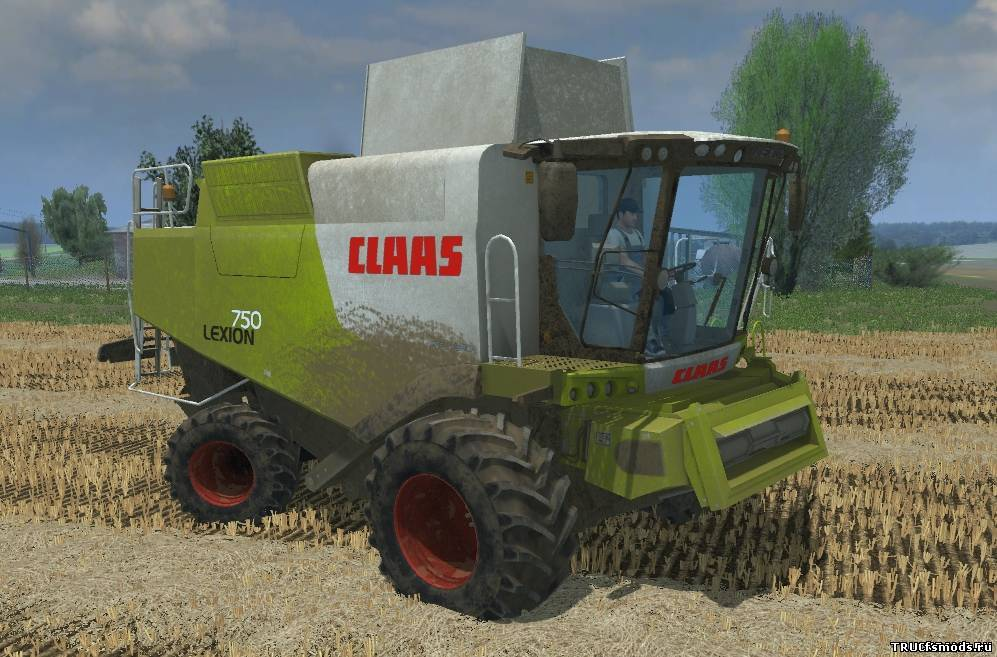 Claas Lexion 750 для Farming Simulator 2013