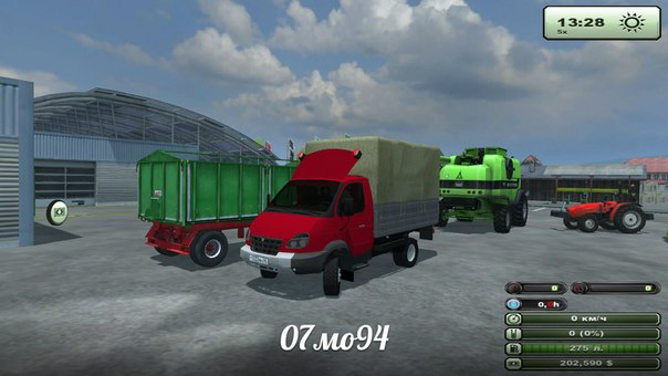 ГАЗ Волдай для Farming Simulator 2013