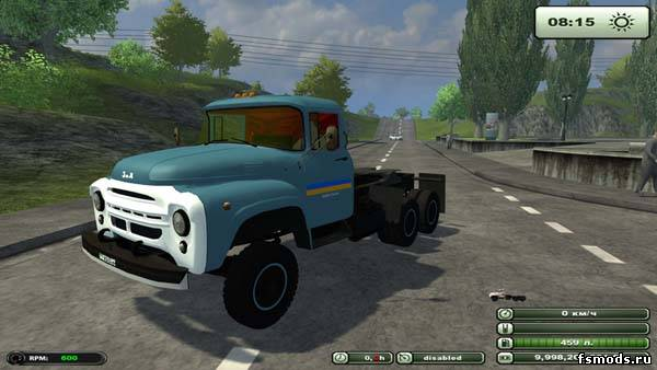 ЗИЛ 133 Г1 для Farming Simulator 2013