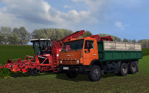 КамАЗ 55102 v3.0 для Farming Simulator 2013