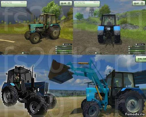 Пак МТЗ 82.1 для Farming Simulator 2013