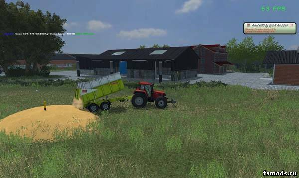 Разгрузка в любом ме... для Farming Simulator 2013
