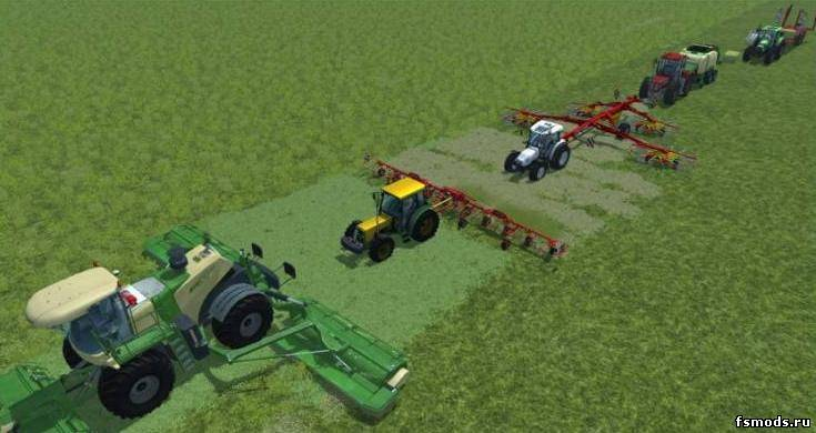 Конвой - Follow Me v... для Farming Simulator 2013