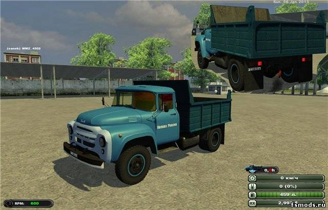 ЗИЛ 130 для Farming Simulator 2013