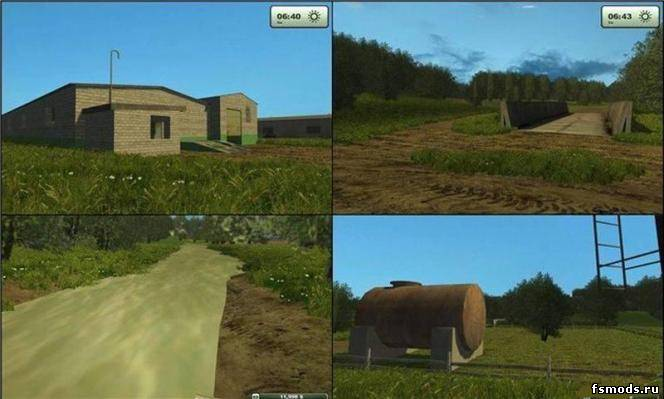 Russian map v2 для Farming Simulator 2013