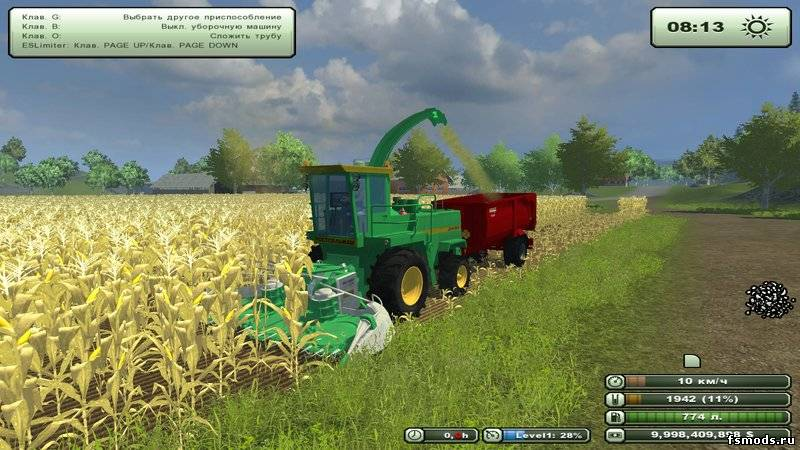 ДОН 680 для Farming Simulator 2013