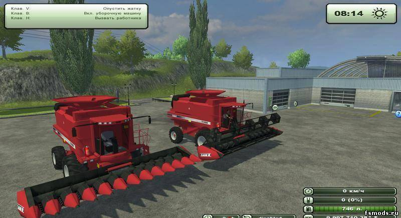 Скачать CASE 2388 AF для Farming Simulator 2013
