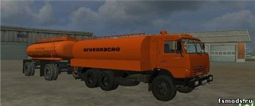 КАМАЗ 55102 бензовоз