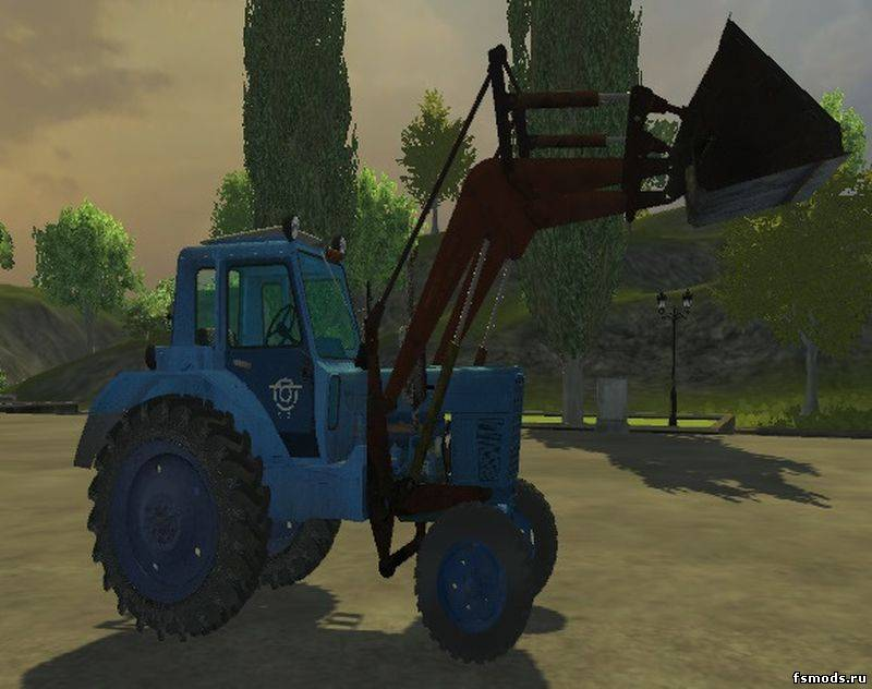 МТЗ 80 и ПКУ 0.8 для Farming Simulator 2013