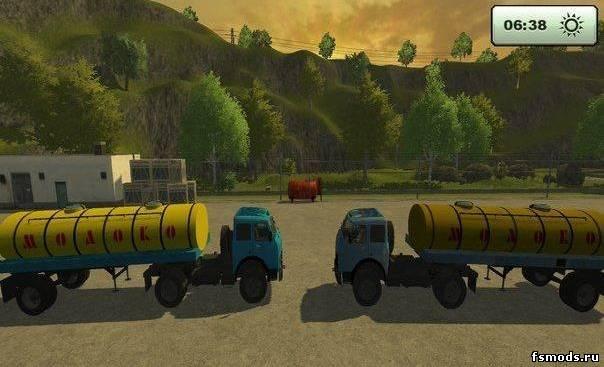 скачать моды для farming simulator 2013 молоковоз маз