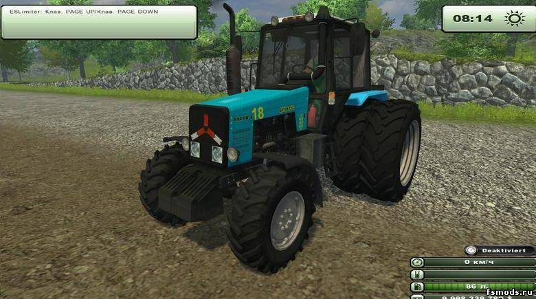 МТЗ 1221B.2 для Farming Simulator 2013