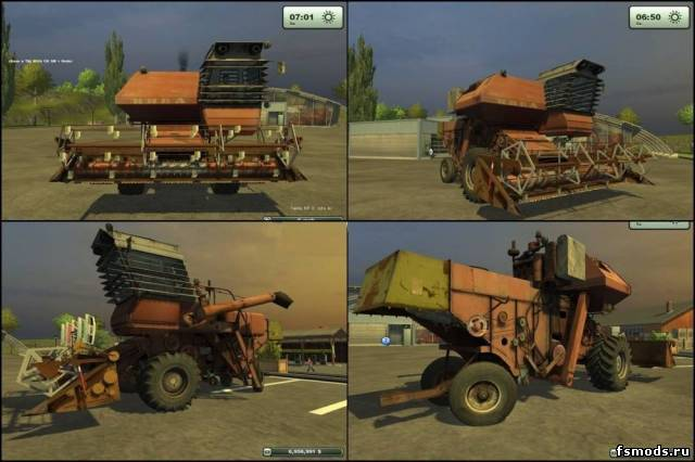 НИВА СК-5 для Farming Simulator 2013