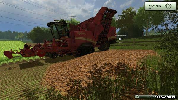 Alternative Tipping для Farming Simulator 2013