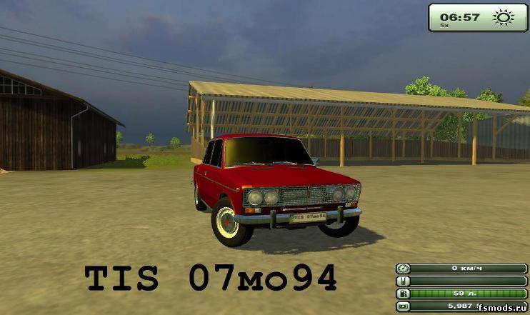 ВАЗ 2103 для Farming Simulator 2013