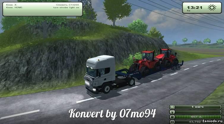 Farming Simulator 2015 Прицеп Для Муки