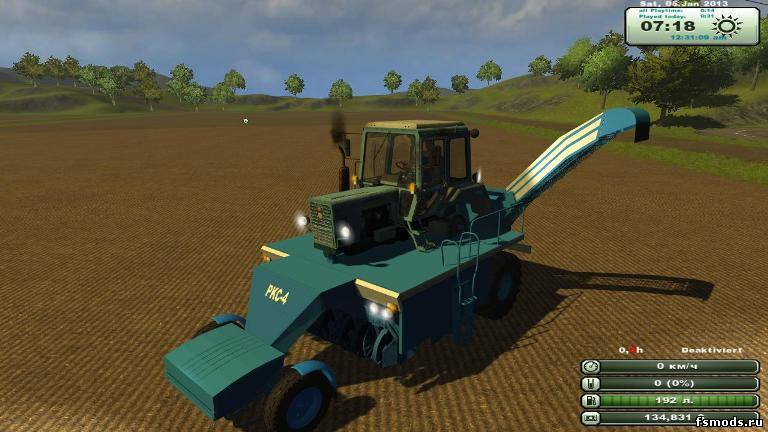 PKC 4 для Farming Simulator 2013