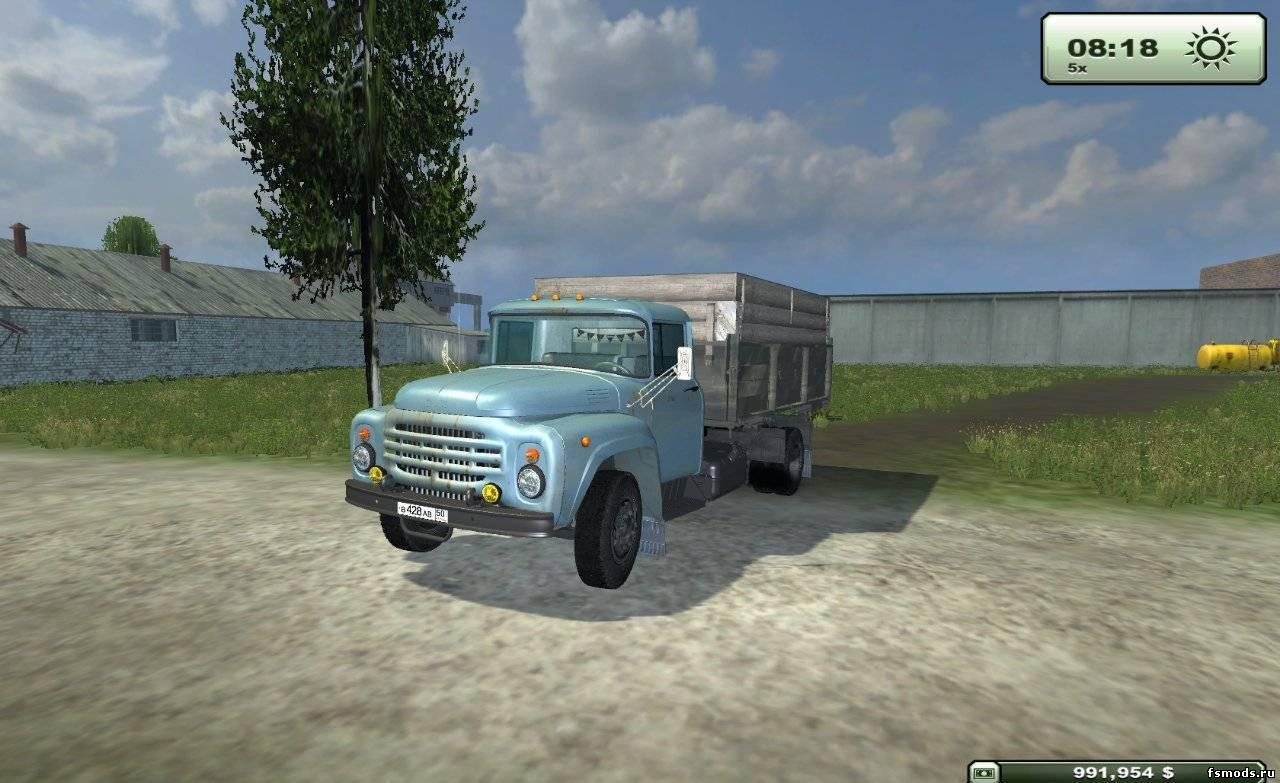 ЗИЛ 130 v2 для Farming Simulator 2013