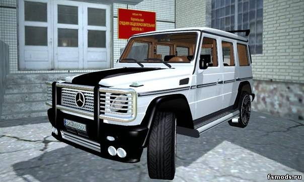Mersedes-Benz G65 AM... для Farming Simulator 2013