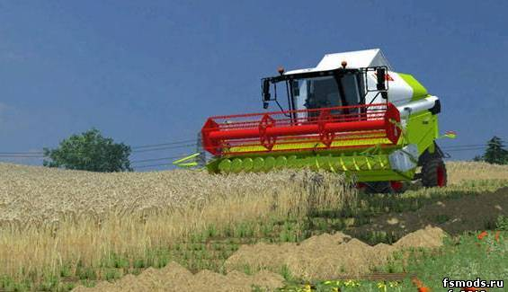 Скачать Claas Tucano 340 для Farming Simulator 2013