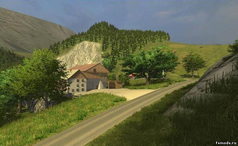 Скачать The Alps для Farming Simulator 2013