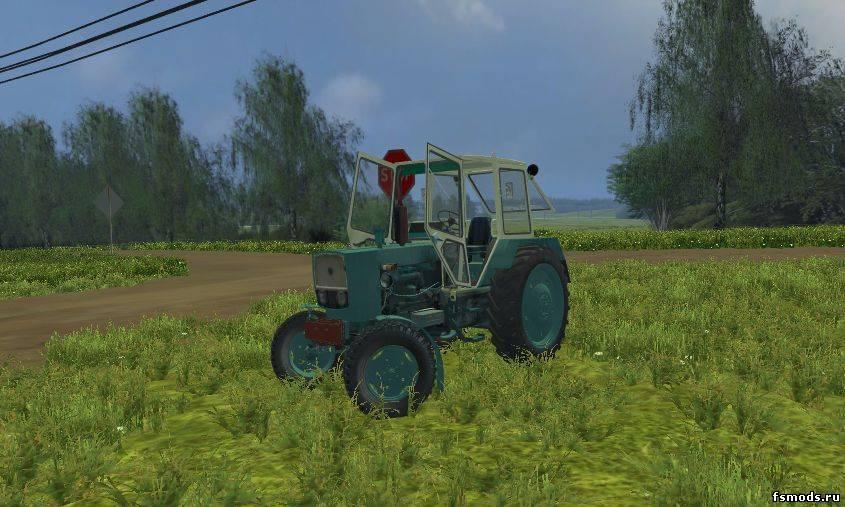 Трактор ЮМЗ 6КЛ прекрасно впишется в
