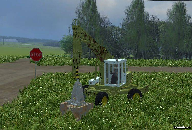 Экскаватор T188 для Farming Simulator 2013