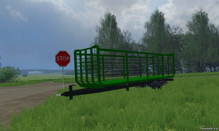 Strawtrailer для Farming Simulator 2013