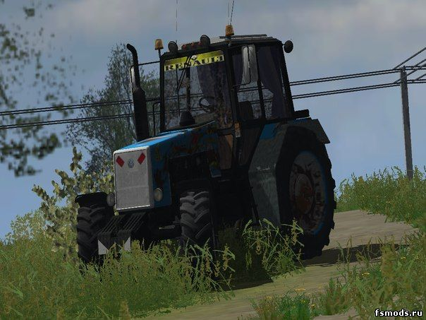MTZ 1221 для Farming Simulator 2013