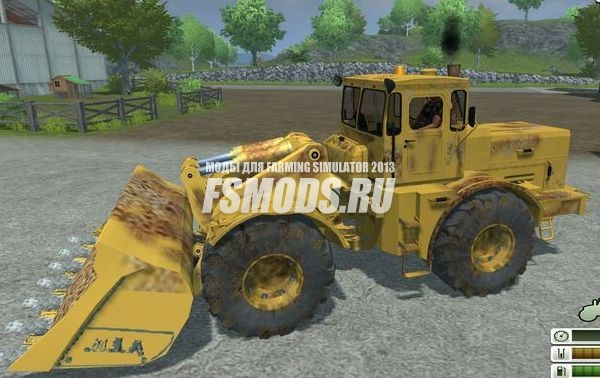 Кировец К701 погрузчик для Farming Simulator 2013