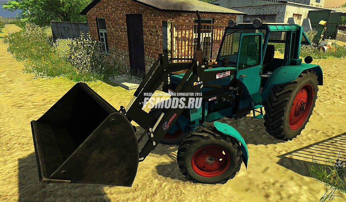 Скачать MTZ 82 Frontloader для Farming Simulator 2013