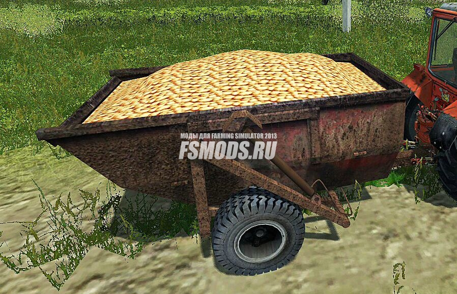 Скачать PST-6 Old Trailer для Farming Simulator 2013
