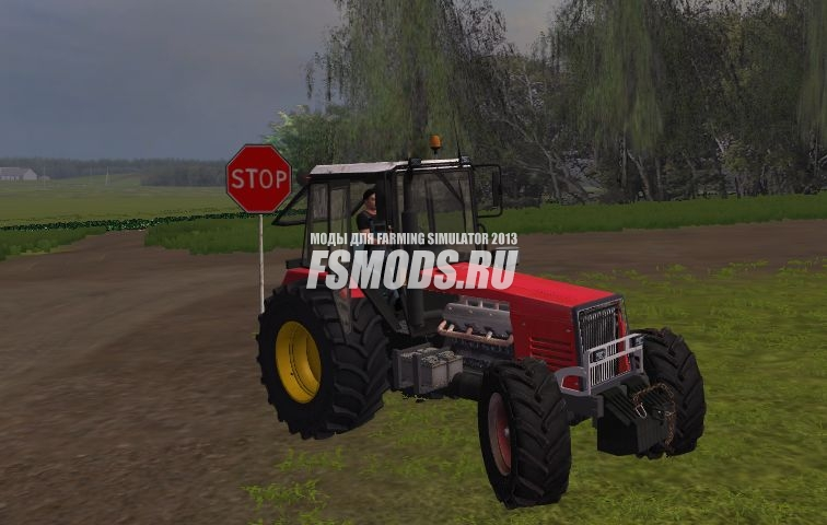 Беларус 820.4 бизон для Farming Simulator 2013