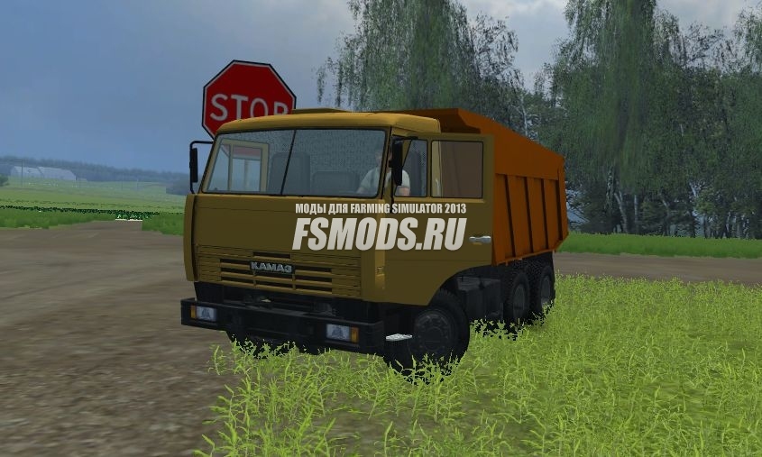 Скачать KamAZ 65115 для Farming Simulator 2013