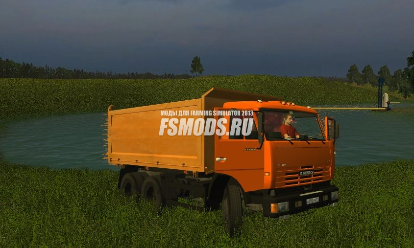 КАМАЗ 4528 для Farming Simulator 2013