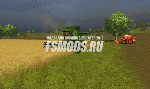 Скачать John Deere T 660i для Farming Simulator 2013
