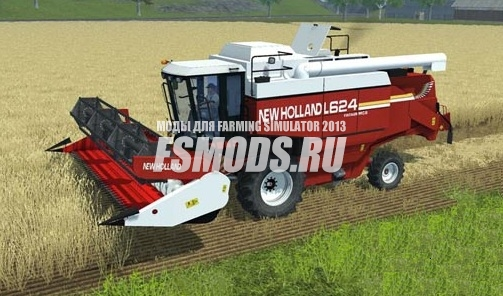 Скачать New Holland L624 для Farming Simulator 2013