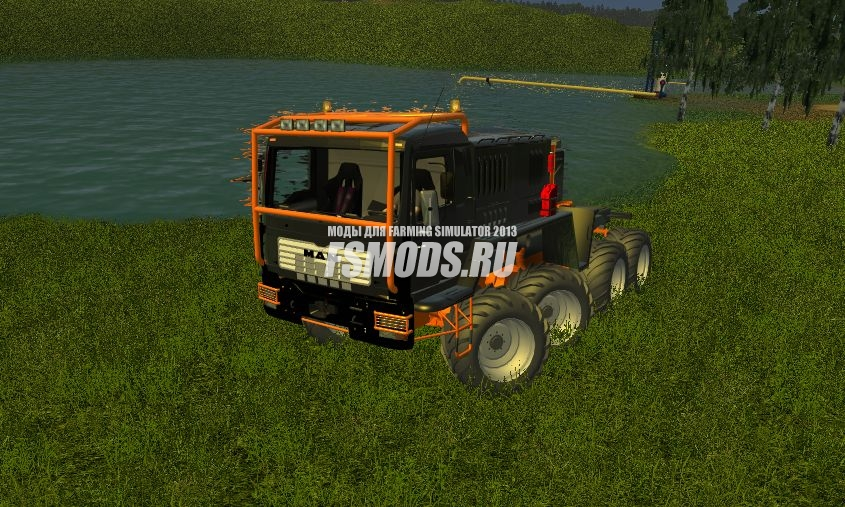 Скачать MAN для Farming Simulator 2013