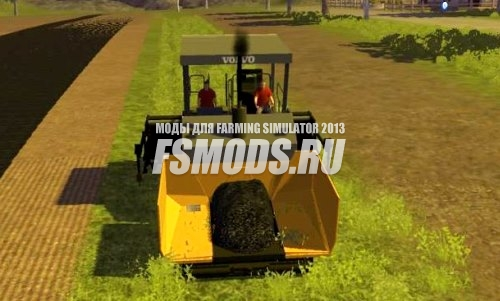 Асфальтоукладчик для Farming Simulator 2013