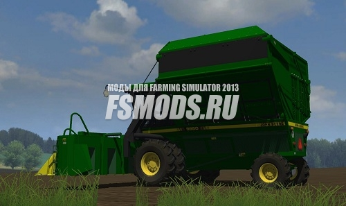 Скачать John Deere 9950 для Farming Simulator 2013