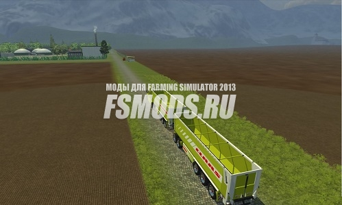 Скачать Agrarfrost Map для Farming Simulator 2013