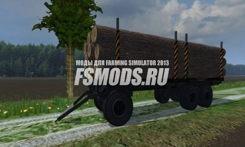 ПТС-12 Лесовоз для Farming Simulator 2013